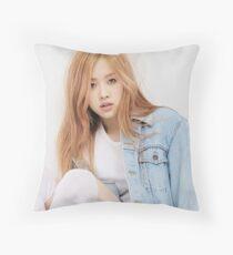 Rose, Blackpink Throw Pillow