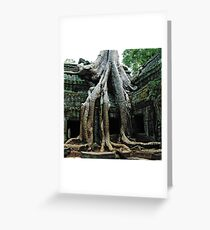 Ta Prohm  Greeting Card