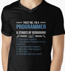 Trust me I'm a programmer Men's V-Neck T-Shirt