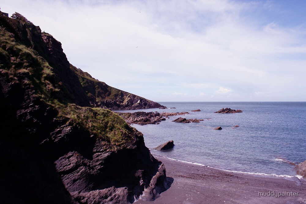 Ilfracombe Tunnel Beach by muddypainter