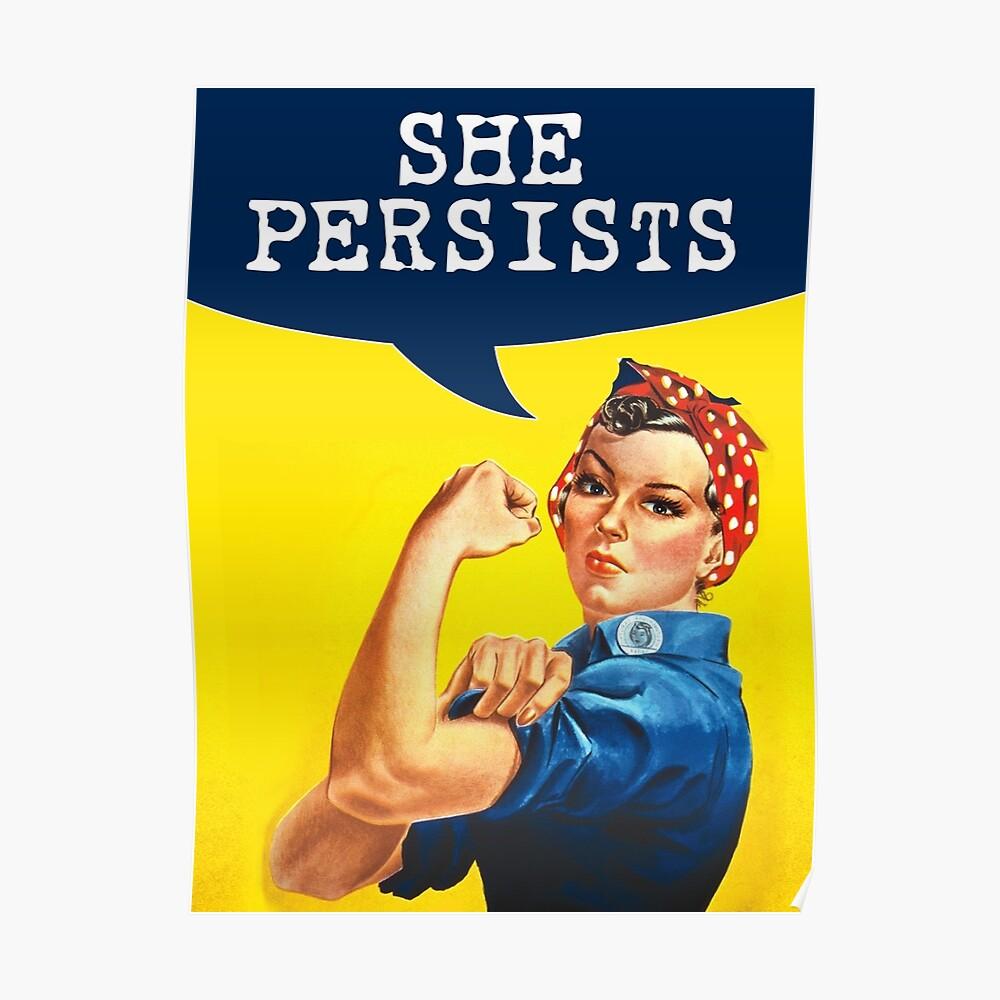Sie besteht - Rosie der Nieteneinschläger Poster
