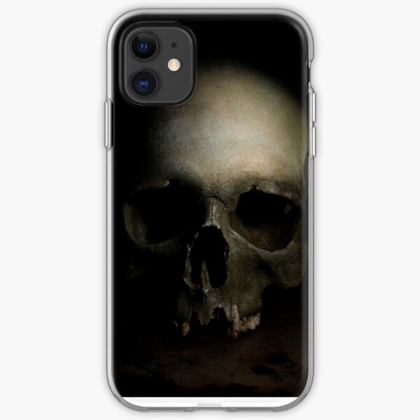 The skull iPhone Soft Case