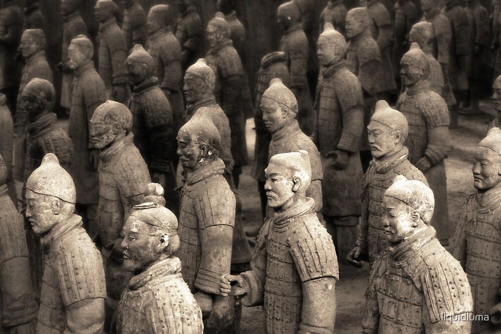 Emperor Qin Shi Huang's Army, China by liquidluma