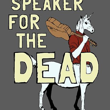 Speaker For The Dead by altergrounds