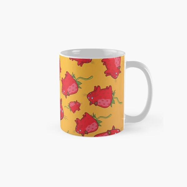 Strawberry Cat Classic Mug