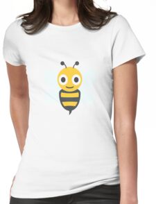 Cute Honey Bee, Wings Womens Fitted T-Shirt