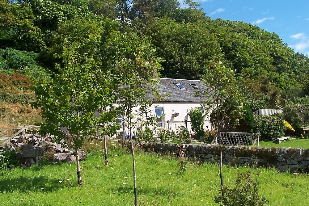 Kildavannan Cottage by Bob Paterson