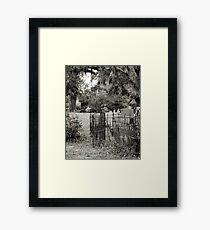 """'St. Andrew's Cemetary"""" Framed Print"""