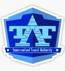 Tomorrowland Transit Authority Sticker