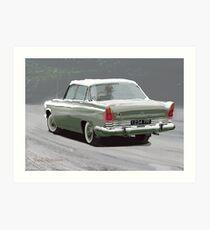 1960s Ford Zodiac V6 Art Print