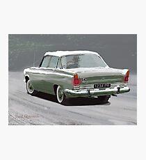1960s Ford Zodiac V6 Photographic Print