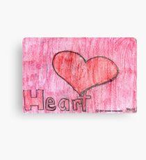 HEARTH Canvas Print