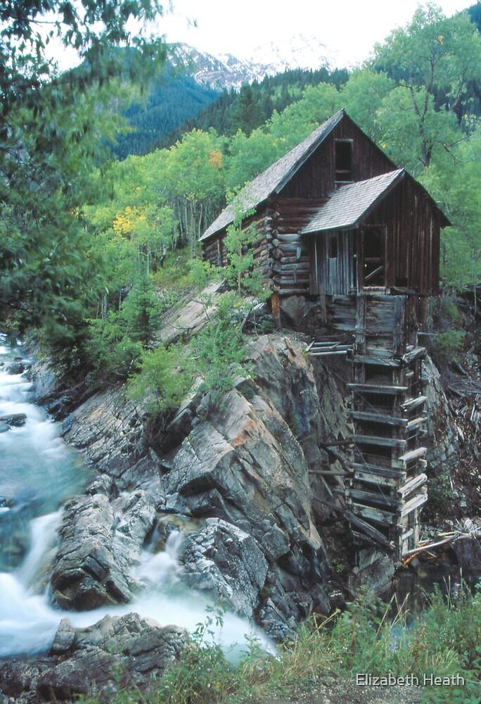 Crystal Mill, Colorado by Elizabeth Heath