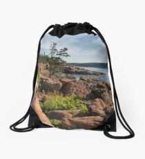 Coastal Beauty Drawstring Bag