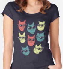 Cat Shirt Women's Fitted Scoop T-Shirt