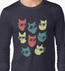 Cat Shirt Long Sleeve T-Shirt