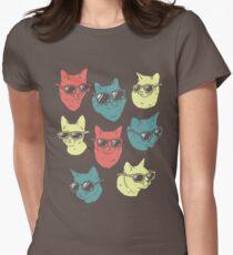Cat Shirt Womens Fitted T-Shirt