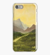 Afternoon plains iPhone Case/Skin