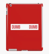dumb dumb - red velvet iPad Case/Skin