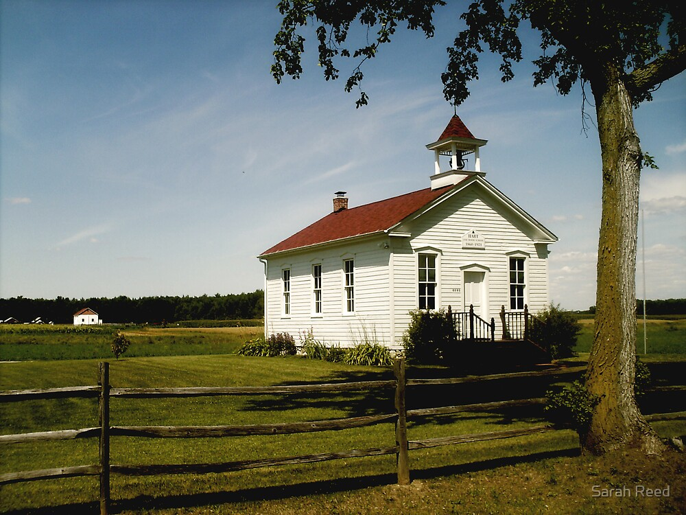 hart, one room schoolhouse. by Sarah Reed