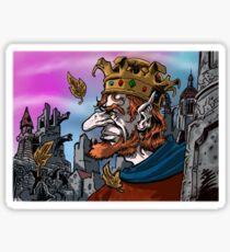 """""""Last Goblin King"""" Sticker"""