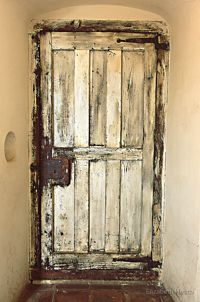 sacristy door by Elizabeth Heath