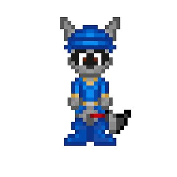 Sly Cooper  by xJokerz