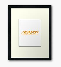 SEGA Nomad Framed Print
