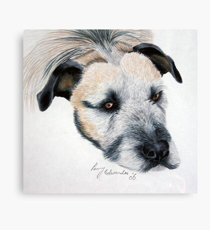 My wolfhound Brutal Canvas Print