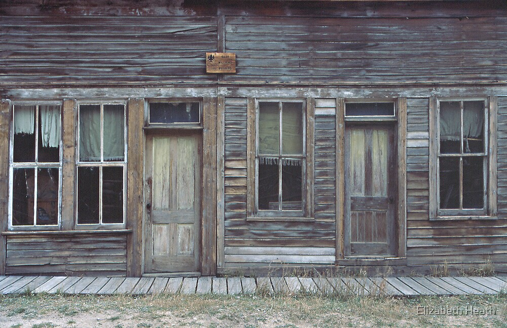St. Elmo ghost town, Colorado by Elizabeth Heath