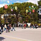 Spring on Dëshmorët e Kombit Boulevard by Rae Tucker