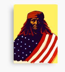 Apche War Chief Canvas Print