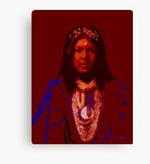Apache Corn Maiden Canvas Print
