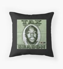Tax Season Podcast Throw Pillow
