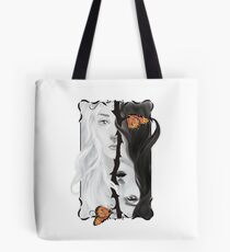 Catching the butterfly Tote Bag