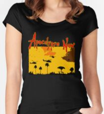 Apocalypse now! Women's Fitted Scoop T-Shirt