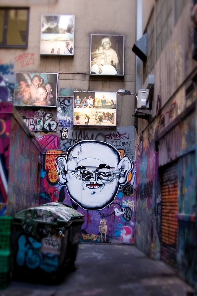 Alley Art by Enrico Bettesworth