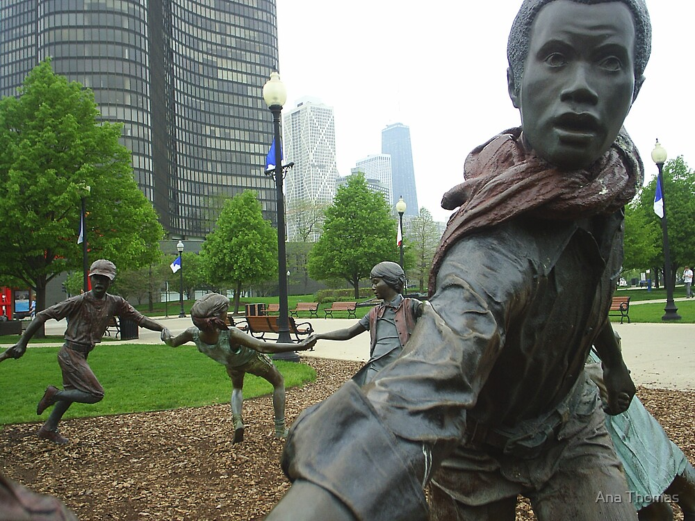 Chicago Posies by Ana Thomas