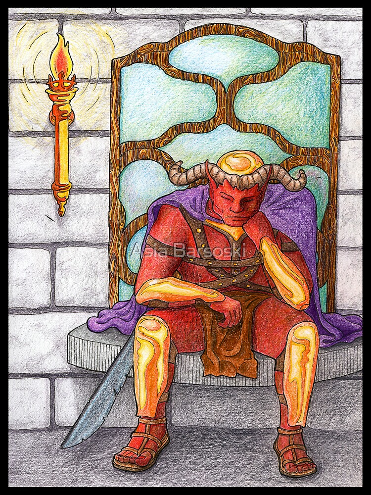 Demon King by Asia Barsoski