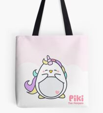 Piki is a Unicorn Tote Bag