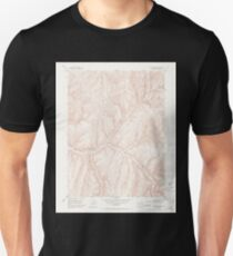 USGS TOPO Map Colorado CO No Name Ridge 401509 1952 24000 Unisex T-Shirt