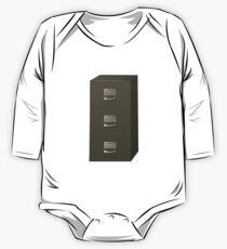 Glitch Groddle Land cubicle cabinet stack One Piece - Long Sleeve