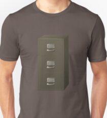 Glitch Groddle Land cubicle cabinet stack Unisex T-Shirt