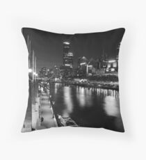 One night in Melbourne Throw Pillow