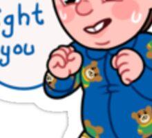 Babby Neville Sticker