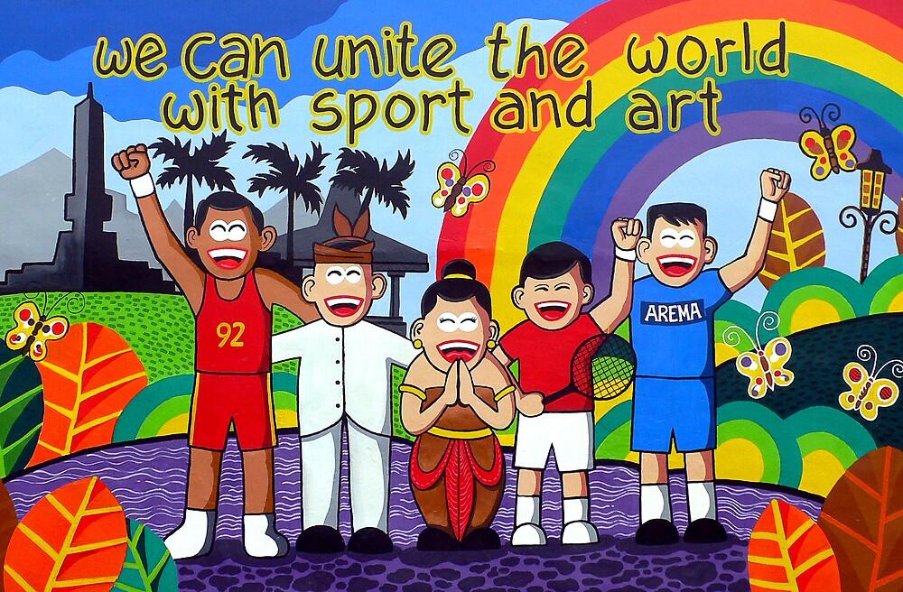 Unite the World by mbanyak