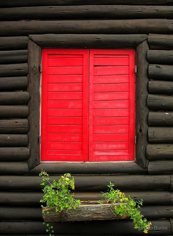 Red Window by Bruno Burini