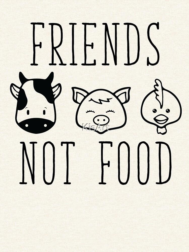 Freunde nicht essen von KisArt