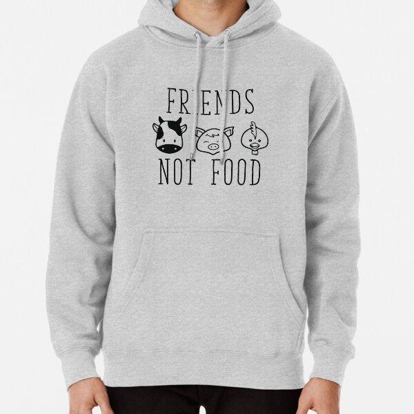Friends Not Food Pullover Hoodie