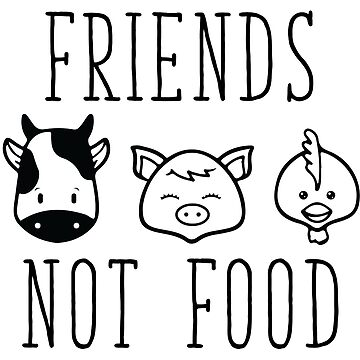 Friends Not Food by KisArt